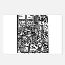 the Bookbinder Postcards (Package of 8)