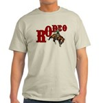 Vintage Rodeo Bronc Rider Light T-Shirt