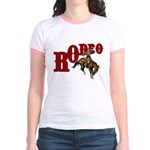 Vintage Rodeo Bronc Rider Jr. Ringer T-Shirt