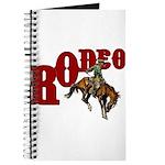 Vintage Rodeo Bronc Rider Journal
