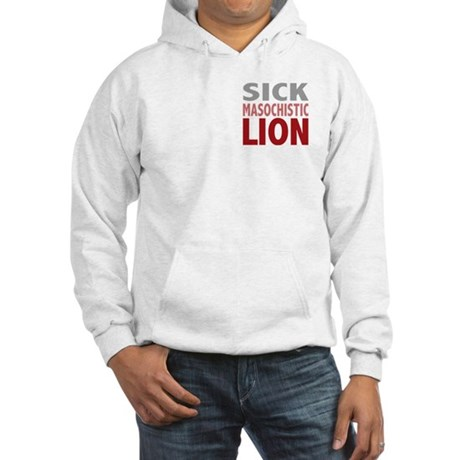 Sick Masochistic Lion Dialog Twilight Hooded Sweat