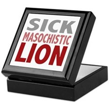 Sick Masochistic Lion Dialog Twilight Keepsake Box