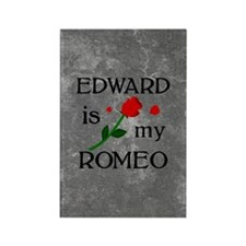 Edward Is My Romeo Rectangle Magnet