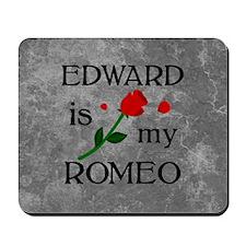 Edward Is My Romeo Mousepad