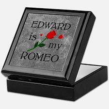 Edward Is My Romeo Keepsake Box