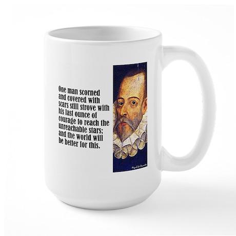 "Cervantes ""One Man"" Large Mug"