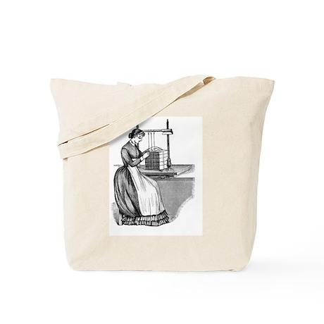 Sewing Frame Tote Bag