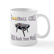 Mug   - Foosball Girls Will Rock (Bonzini)