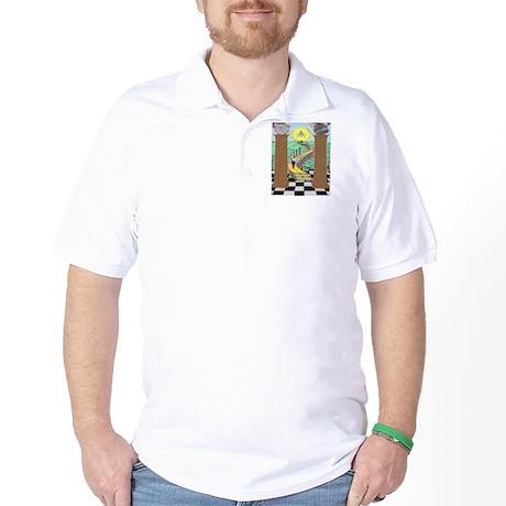 Shriner and Child Golf Shirt
