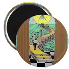 "Shriner and Child 2.25"" Magnet (10 pack)"
