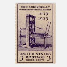 Printing Press Postcards (Package of 8)