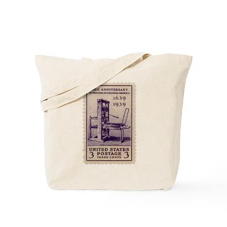 Printing Press Tote Bag