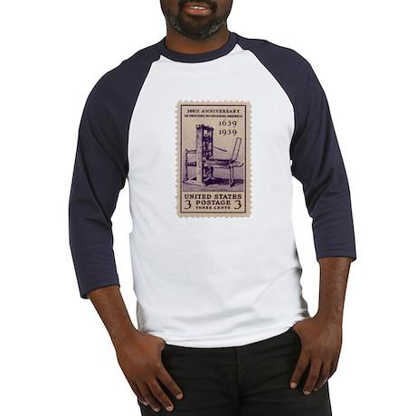 Printing Press Baseball Jersey