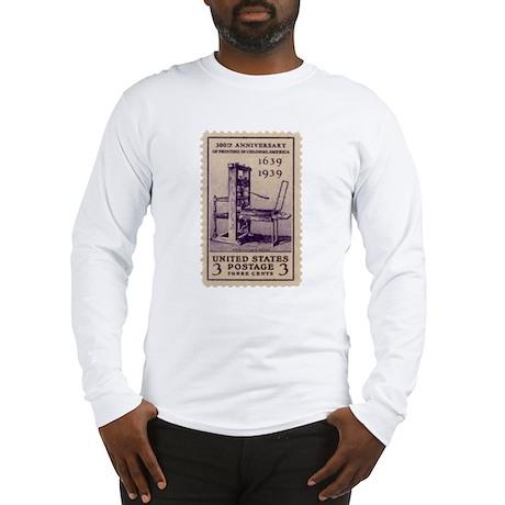 Printing Press Long Sleeve T-Shirt