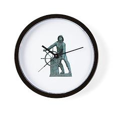 Fisherman's Memorial Wall Clock
