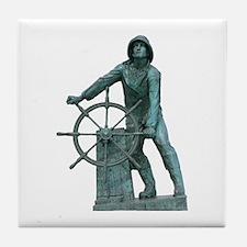 Fisherman's Memorial Tile Coaster