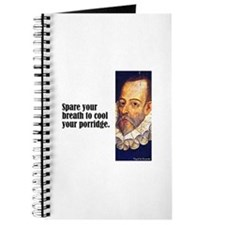 "Cervantes ""Spare Breath"" Journal"