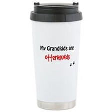 Otterhound Grandkids Travel Mug