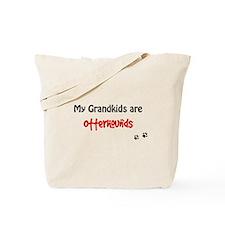 Otterhound Grandkids Tote Bag