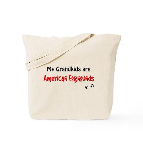 Am Foxhound Grandkids Tote Bag