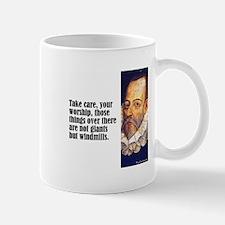 "Cervantes ""Windmills"" Mug"