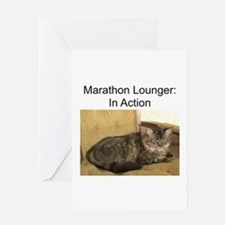Marathon Lounger Greeting Card