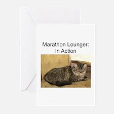 Marathon Lounger Greeting Cards (Pk of 10)