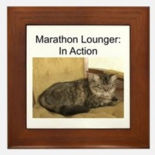 Marathon Lounger Framed Tile