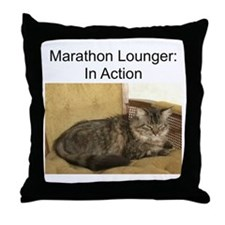 Marathon Lounger Throw Pillow