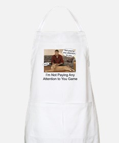 Not paying attention BBQ Apron