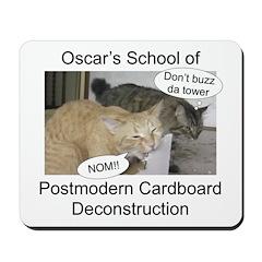 Postmodern Cardboard Deconstr Mousepad