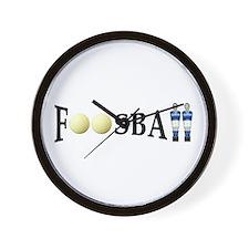 Wall Clock - Foosball (Bonzini men)