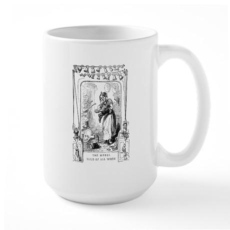 Working Woman Large Mug