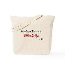 Spitz Grandkids Tote Bag