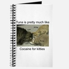Tuna is like cocaine for kitt Journal