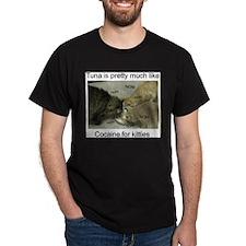 Tuna is like cocaine for kitt T-Shirt