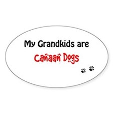 Canaan Grandkids Oval Decal