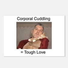 Corporal Cuddling = Tough Lov Postcards (Package o