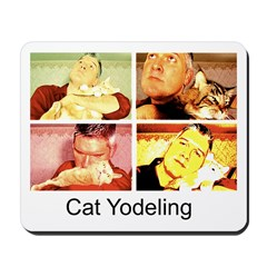 Cat Yodeling Mousepad