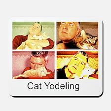 Cat Yodeling Mousepad