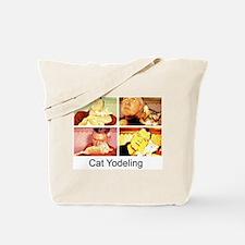 Cat Yodeling Tote Bag