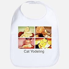 Cat Yodeling Bib