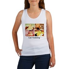 Cat Yodeling Women's Tank Top