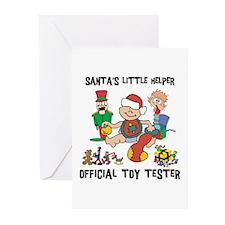 Santa's Little Helper Greeting Cards (Pk of 10
