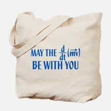 May The Force Be With You Tote Bag