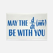 May The Force Be With You Rectangle Magnet