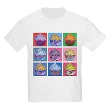 Lichtenstein Cupcakes T-Shirt