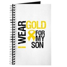 I Wear Gold For My Son Journal