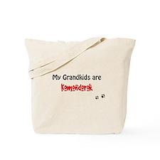 Komondor Grandkids Tote Bag