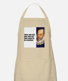 """Cervantes """"Play With Cats"""" BBQ Apron"""